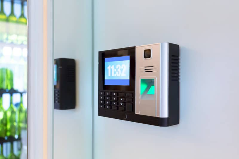 door access reader